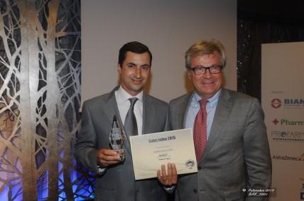 Διάκριση επιχειρηματικής αριστείας για τη Novartis Hellas