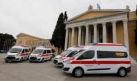 Δωρεά ασθενοφόρων από την Ομοσπονδία Εθελοντών Σαμαρειτών της Γερμανίας