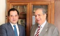 Συνάντηση Γεωργιάδη – Βλασταράκου για το ασφαλιστικό