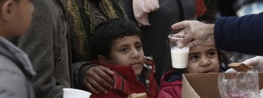 Δημιουργία άτυπων καταυλισμών για τους πρόσφυγες
