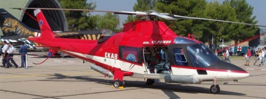 Αεροδιακομιδή 55χρονης με ελικόπτερο της Πυροσβεστικής στην Χαλκιδική