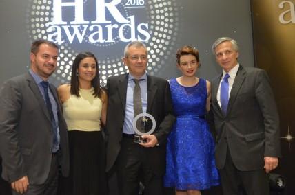 """Διπλή βράβευση για την AbbVie στα """"HR Awards 2016"""""""