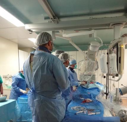 Πρωτοποριακή τεχνική για ασθενείς με στένωση αορτικής βαλβίδας