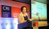 Διάκριση για τη Roche Hellas σύμφωνα με τον Εθνικό Δείκτη Εταιρικής Κοινωνικής Ευθύνης – CR Index