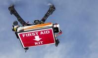 Για πρώτη φορά μεταφορά απινιδωτή μέσω drone! Video