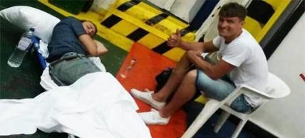 Διακομιδή ασθενούς με συνοδεία…φίλου του από το Κέντρο Υγείας Παξών στα Ιωάννινα!
