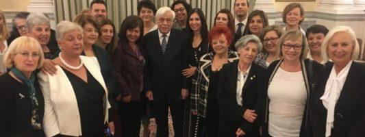 Ελληνική Ομοσπονδία Καρκίνου (ΕΛΛΟΚ) : Συνάντηση με τον Πρόεδρο της Δημοκρατίας