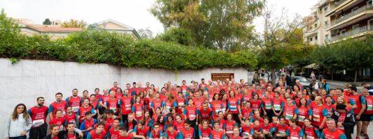"""Η ομάδα """"Run to Change Diabetes"""" της Novo Nordisk Hellas στον Αυθεντικό Μαραθώνιο της Αθήνας 2019"""