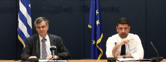 Κορονοϊός, ένας χρόνος: Όταν ο Σωτήρης Τσιόδρας ανακοίνωνε το πρώτο κρούσμα