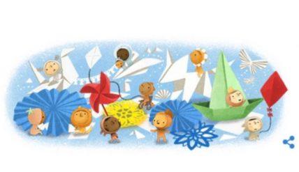 Ημέρα του Παιδιού: Το doodle της Google αφιερωμένο στα παιδιά όλου του κόσμου