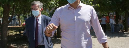 Ξεκίνησαν οι εντατικοί έλεγχοι του ΕΟΔΥ στην Κυψέλη παρουσία Κικίλια – Τσιόδρα