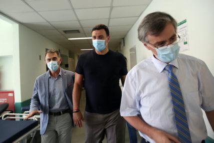 Τους εκπροσώπους των κομμάτων της Αντιπολίτευσης ενημερώνει σήμερα ο Υπουργός Υγείας Βασίλης Κικίλιας