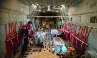 Κορονοϊός: Από Καβάλα η πρώτη αεροδιακομιδή διασωληνωμένων με C130 στην Αθήνα