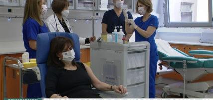 Εμβόλιο – Κορονοϊός: Εμβολιάστηκε η Πρόεδρος της Δημοκρατίας