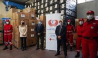 Ο ΣΦΕΕ κάλυψε το κόστος των rapid tests για τον Ελληνικό Ερυθρό Σταυρό