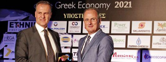 """Διάκριση της Bristol Myers Squibb στον θεσμό """"Diamonds of the Greek Economy"""" για τη θετική συνεισφορά της στην ελληνική οικονομία"""